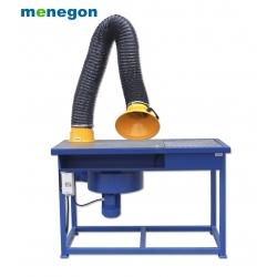 Stół spawalniczo - szlifierski z wentylatorem S-1000 ECON 2m + stolik obrotowy