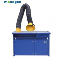 Stół spawalniczo - szlifierski z wentylatorem i filtracją SF-1000 ECON 2m + stolik obrotowy