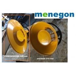 Powiększona ssawa 500mm średnicy do ramienia odciagowego lub urządzenia Menegon