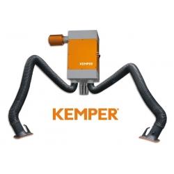 Kemper Stacjonarny filtr nabojowy dwa ramiona z wężem 4m 83200102 z dostawą