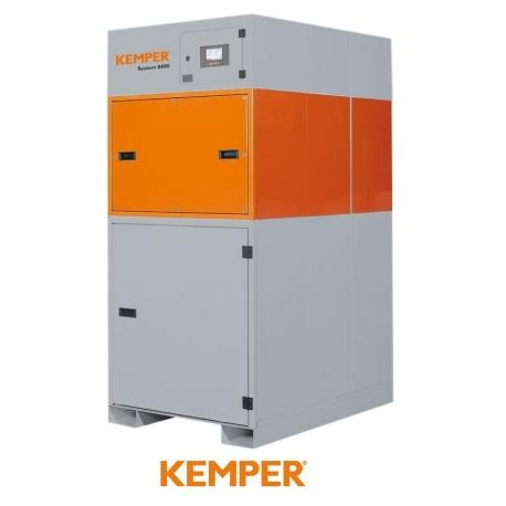 Centrala filtrowentylacyjna 8000 moc ssąca 1.500 m?/h - 2.160 m?/h