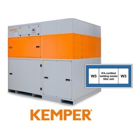 Centrala filtrowentylacyjna 8000 moc ssąca 1 750 - 2 520 m?/h