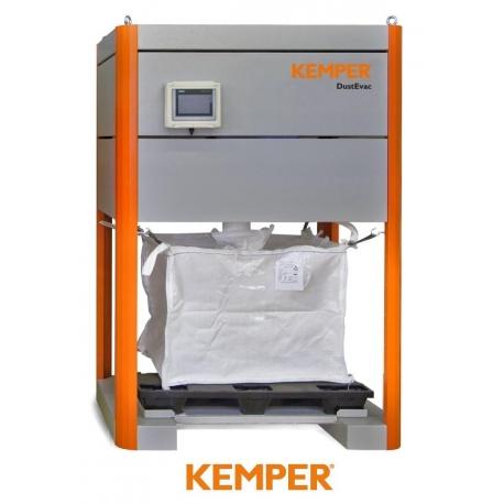 DUSTEVAC - separator wstępny dla dużych ilości pyłów do central filtrowentylacyjnych Kemper
