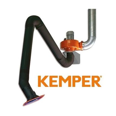 Rurowy komplet odciągowy Kemper 3m rura 79 503 201 z dostawą