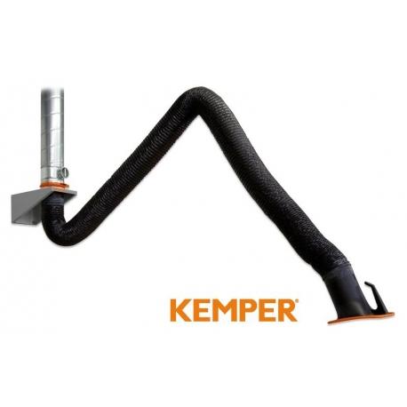 Ramię odciągowe KEMPER w wykonaniu z wężem 2m 79002