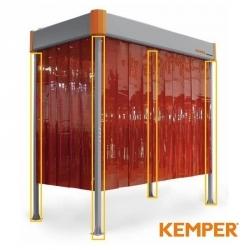 Komplet 3 metrowych podpór do okapu odciągowego Kemper VarioHood 70400300