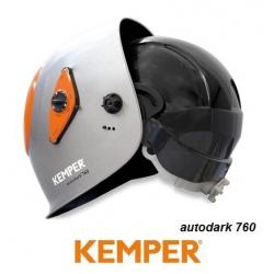 Przyłbica spawalnicza Autodark® 760 zewnętrzne sterowanie z kaskiem