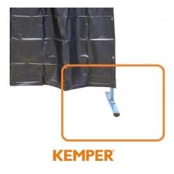 Komplet kół do ścianki ochronnej foliowej Kemper 1 lub 3 częściowej 70 600 699