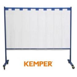 1-częściowa ścianka ochronna Kemper z lamelami 3mm przeźroczysta 70 600 605