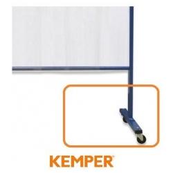 Komplet kół do 1 i 3 częściowej ścianki lamelowej Kemper 70 600 699