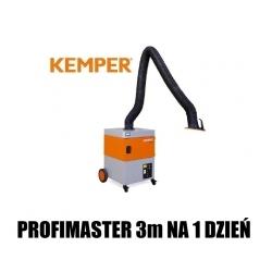 1 DZIEŃ WYPOŻYCZENIE Kemper Profimaster 3m ramię z wężem oraz matą aluminium