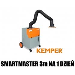1 DZIEŃ WYPOŻYCZENIE Kemper Smartmaster 3m ramię z wężem oraz matą aluminium