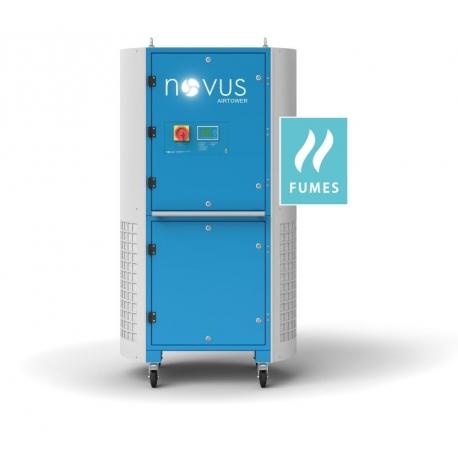 Novus AIRTOWER GO 5000 F - Pyły i dym