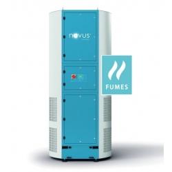 Novus AIRTOWER FT 10000 F - Pyły i dym