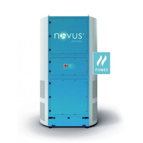 Novus AIRTOWER FT 15000 F - Pyły i dym