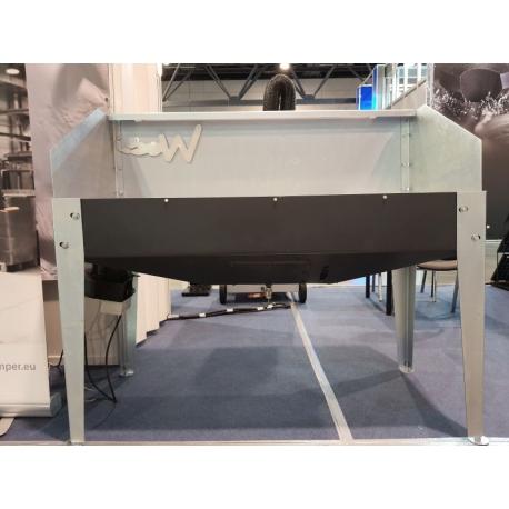 Stół szlifierski z filtracją wodną H2O