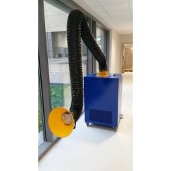 Odpylacz kasetowy boxair m1 400v do ramienia przewodowego 2m, 3m 1x160mm