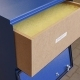 Odpylacz kasetowy boxair basic 230v do ramienia przewodowego 2m, 3m 1x160mm